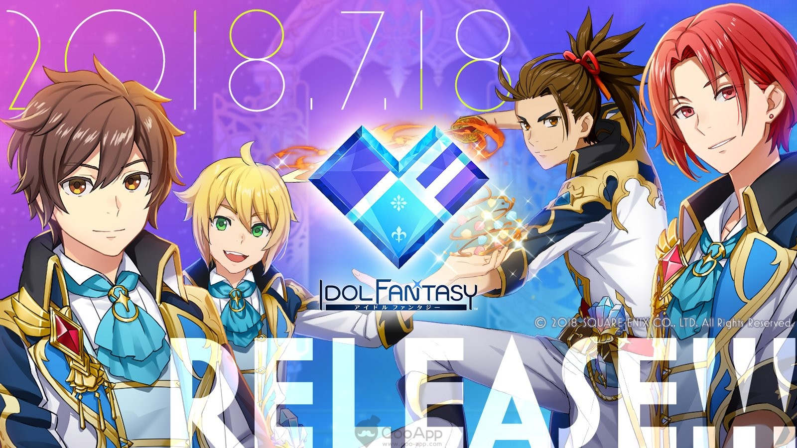 Another idol hell - Square Enix's Idol Fantasy launches on mobile now